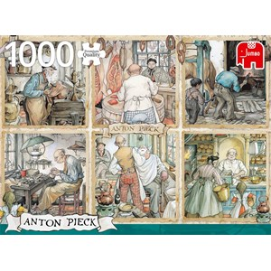 "Jumbo (18817) - Anton Pieck: ""Craftmanship"" - 1000 piezas"