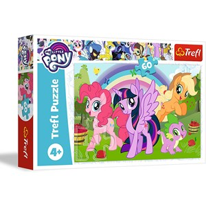 """Trefl (17323) - """"My Little Pony"""" - 60 piezas"""