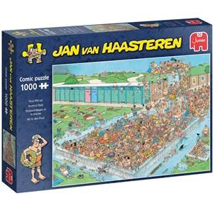 """Jumbo (20039) - Jan van Haasteren: """"Pool Pile-Up"""" - 1000 piezas"""
