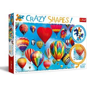 "Trefl (11112) - ""Colorful Balloons"" - 600 piezas"