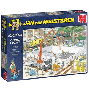 "Jumbo (20037) - Jan van Haasteren: ""Almost Ready?"" - 1000 piezas"