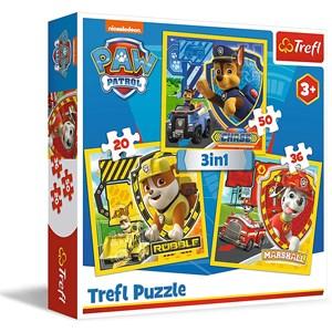 """Trefl (34839) - """"Paw Patrol"""" - 20 36 50 piezas"""
