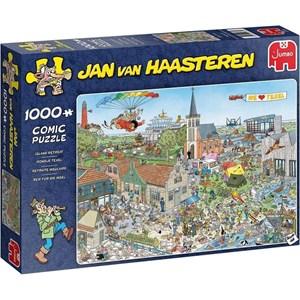 """Jumbo (20036) - Jan van Haasteren: """"Island Retreat"""" - 1000 piezas"""
