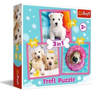 "Trefl (34845) - ""Dogs"" - 20 36 50 piezas"