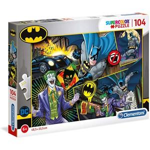 "Clementoni (25708) - ""Batman"" - 104 piezas"