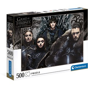 "Clementoni (35091) - ""Game of Thrones"" - 500 piezas"