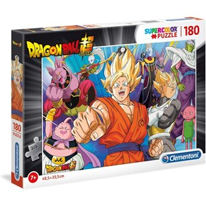"Clementoni (29755) - ""Dragon Ball"" - 180 piezas"
