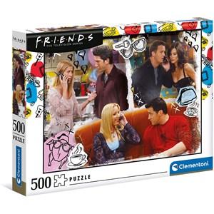 """Clementoni (35090) - """"Friends"""" - 500 piezas"""