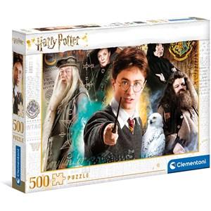 """Clementoni (35083) - """"Harry Potter"""" - 500 piezas"""