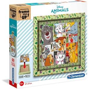 """Clementoni (38804) - """"Disney Animals"""" - 60 piezas"""