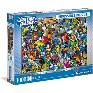 "Clementoni (39599) - ""DC Comics"" - 1000 piezas"