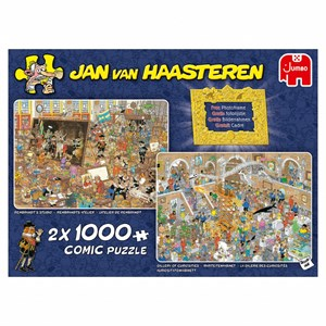 """Jumbo (20032) - Jan van Haasteren: """"A Trip to the Museum"""" - 1000 piezas"""