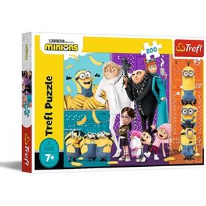 "Trefl (13275) - ""Minions up!"" - 200 piezas"