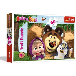 "Trefl (17337) - ""Masha and the Bear"" - 60 piezas"