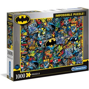 "Clementoni (39575) - ""Batman"" - 1000 piezas"