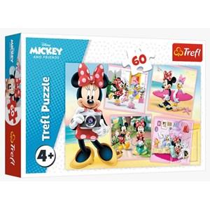 """Trefl (17360) - """"Lovely Minnie"""" - 60 piezas"""