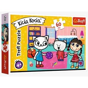 "Trefl (17343) - ""Kittykit with friends"" - 60 piezas"