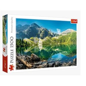 "Trefl (26167) - ""Morskie Oko Lake, Tatras, Poland"" - 1500 piezas"