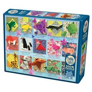 "Cobble Hill (85083) - ""Origami Animals"" - 500 piezas"