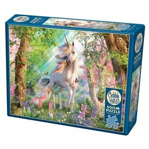 "Cobble Hill (85084) - David Penfound: ""Unicorn in the Woods"" - 500 piezas"
