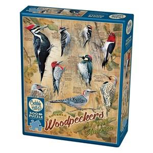 """Cobble Hill (85007) - Susan Bourdet: """"Notable Woodpeckers"""" - 500 piezas"""