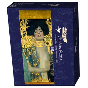 "Bluebird Puzzle (60014) - Gustav Klimt: ""Judith and the Head of Holofernes, 1901"" - 1000 piezas"