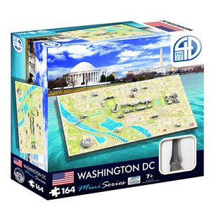 "4D Cityscape (70006) - ""4D Mini Washington D.C."" - 164 piezas"