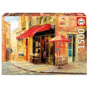 "Educa (17123) - Haixia Liu: ""Hillside Café"" - 1500 piezas"
