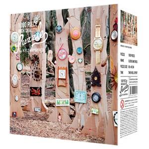 """Kylskåpspoesi (00471) - """"Clocks and Trees"""" - 1000 piezas"""