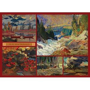 "Cobble Hill (51011) - J.E.H. Macdonald: ""MacDonald Collection"" - 1000 piezas"