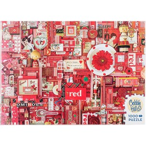 "Cobble Hill (51861) - Shelley Davies: ""Red"" - 1000 piezas"