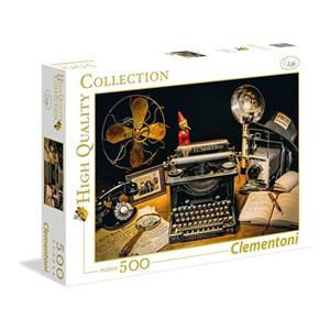 """Clementoni (35040) - """"The Typewriter"""" - 500 piezas"""