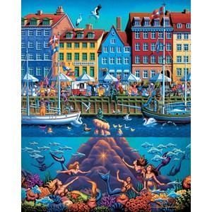 """Dowdle Folk Art (00366) - """"Copenhagen"""" - 500 piezas"""