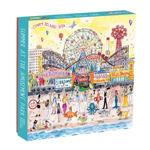 "Chronicle Books / Galison - ""Summer at the Amusement Park"" - 500 piezas"