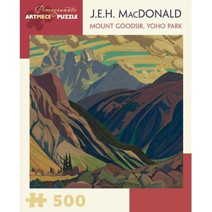 "Pomegranate (AA855) - J.E.H. Macdonald: ""Mount Goodsir, Yoho Park"" - 500 piezas"