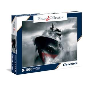 "Clementoni (39351) - Philip Plisson: ""Rescue at Sea - The Abeille Bourbon"" - 1000 piezas"