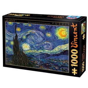 "D-Toys (70197) - Vincent van Gogh: ""Starry Night"" - 1000 piezas"