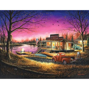 "SunsOut (55139) - Chuck Block: ""A Perfect Evening"" - 1000 piezas"