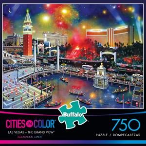 """Buffalo Games (17112) - Alexander Chen: """"Las Vegas - The Grand View"""" - 750 piezas"""