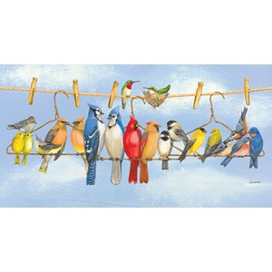 "SunsOut (43182) - Wendy Russell: ""Hangin' Out"" - 300 piezas"
