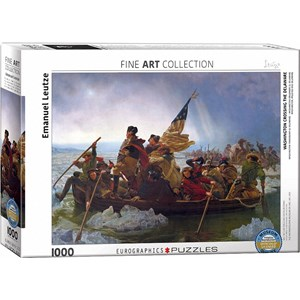 "Eurographics (6000-0829) - Emanuel Leutze: ""Washington Crossing the Delaware"" - 1000 piezas"