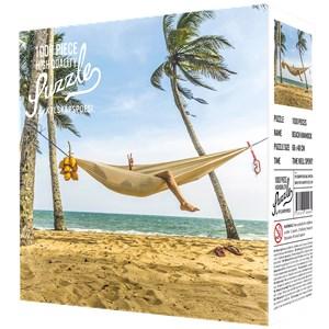 "Kylskåpspoesi (00464) - ""Beach with a Hammock"" - 1000 piezas"