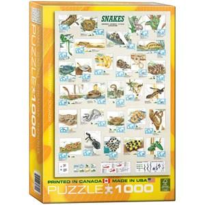 "Eurographics (6000-2610) - ""Snakes"" - 1000 piezas"