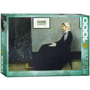 "Eurographics (6000-0749) - James Whistler: ""The Artist's Mother"" - 1000 piezas"