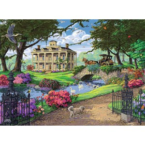 "Ravensburger (14690) - Tom Antonishak: ""Visiting the Mansion"" - 500 piezas"