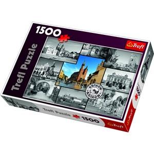 """Trefl (261264) - """"Montage, Cracow"""" - 1500 piezas"""