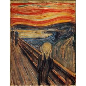 "Clementoni (39377) - Edvard Munch: ""The Scream"" - 1000 piezas"