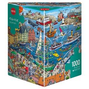 "Heye (29729) - Birgit Tanck: ""Seaport"" - 1000 piezas"