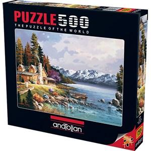"Anatolian (3534) - James Lee: ""Mountain Cabin"" - 500 piezas"