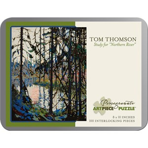 "Pomegranate (AA860) - Tom Thomson: ""Study for ""Northern River"""" - 100 piezas"